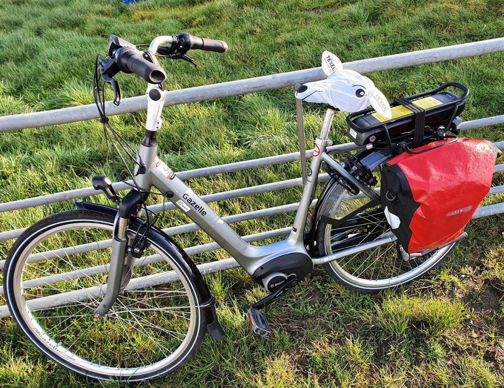 fietsen op texel